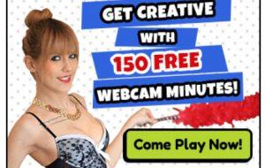150 FREE cam sex minutes!